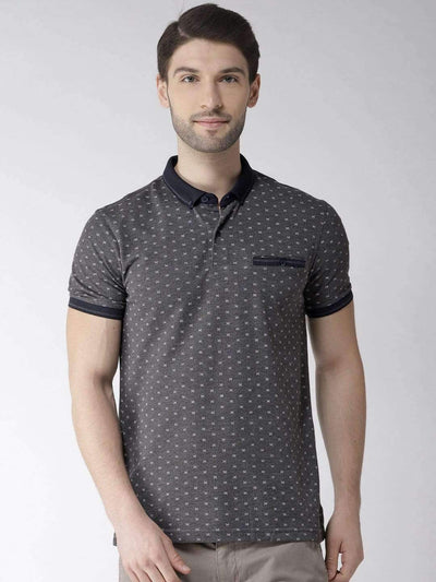 Richlook Grey Polo Tshirt