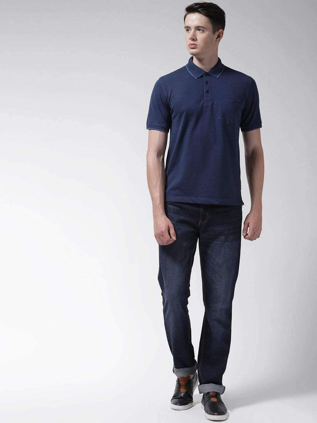 Indigo Polo Tshirt for Men