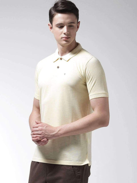 Lemon Polo Tshirt side view