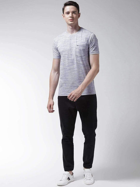 Light Blue Round Neck Tshirt ful;l view