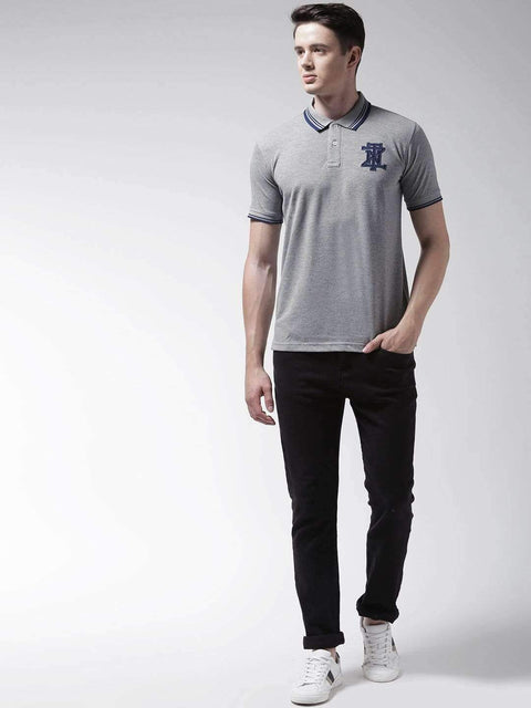 Melange Polo Tshirt Full view