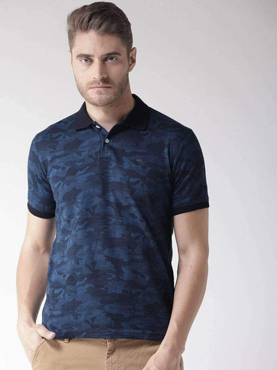Richlook Navy Blue Polo T-Shirt