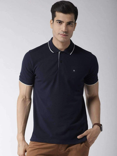 Navy Blue Polo Tshirt