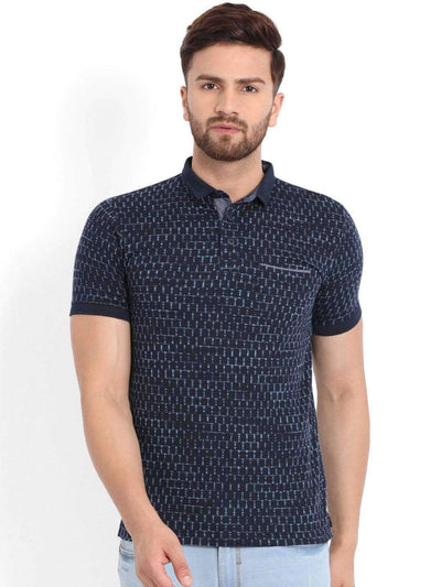Richlook Navy Polo T-Shirt