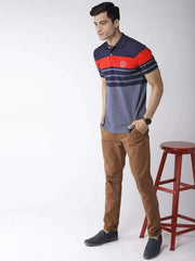 Richlook Navy & Red Polo Tshirt