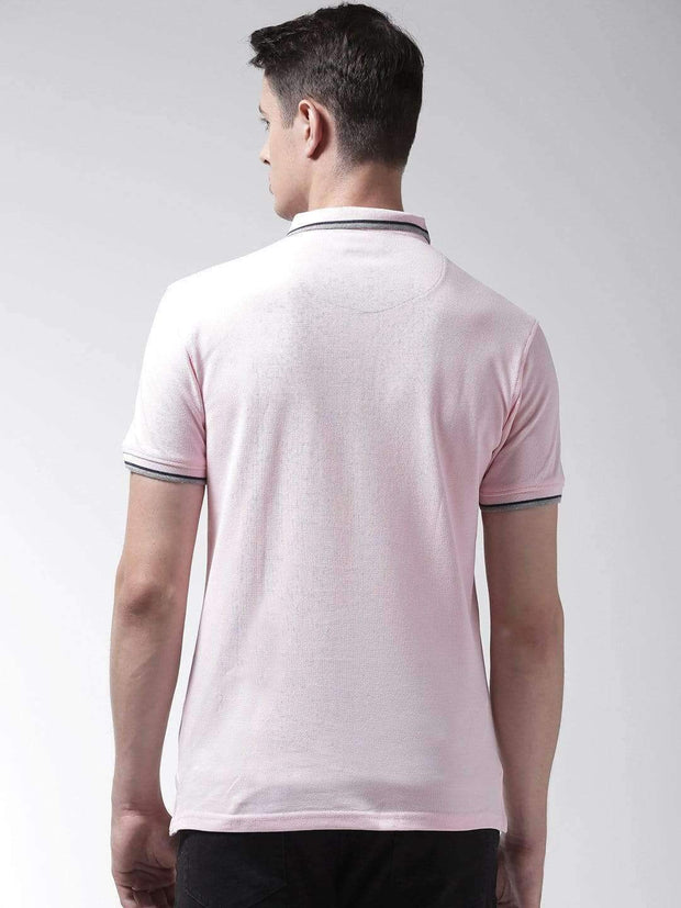 Richlook T-Shirt Richlook Pink Polo Tshirt