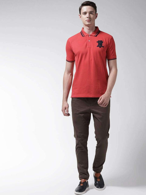 Red Polo Tshirt full view
