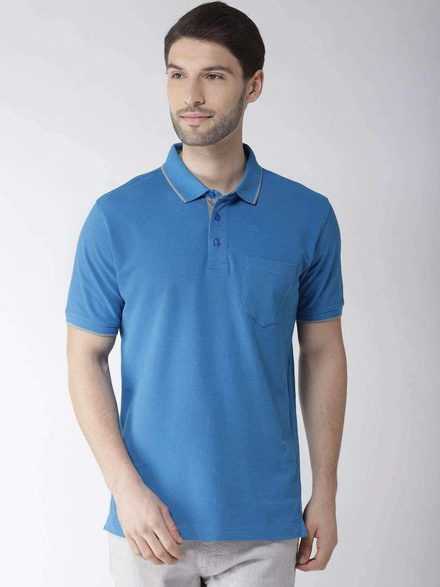Royal Blue Polo Tshirt