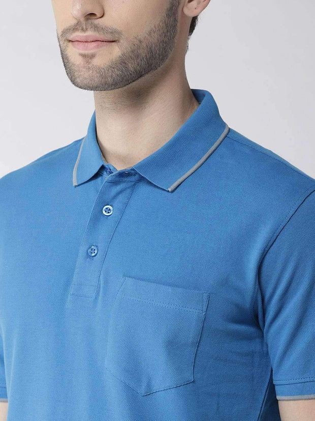 Royal Blue Polo Tshirt for men