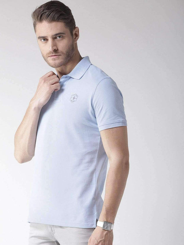 Richlook T-Shirt Richlook Sky Polo T-Shirt