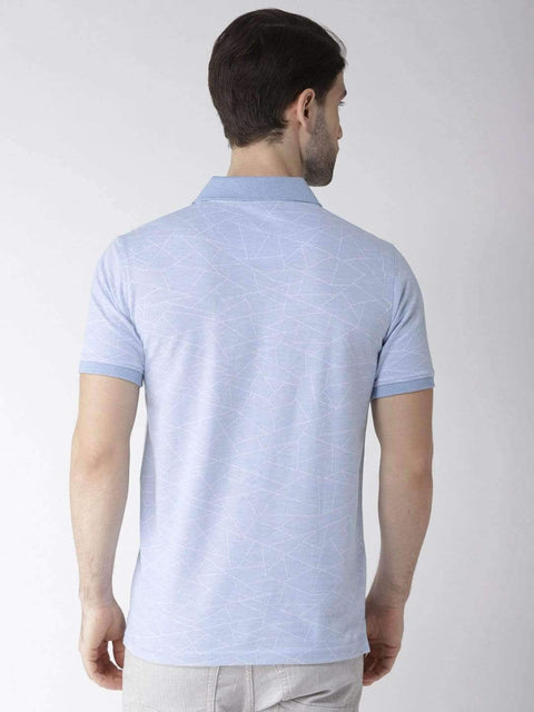 Sky Polo Tshirt back view