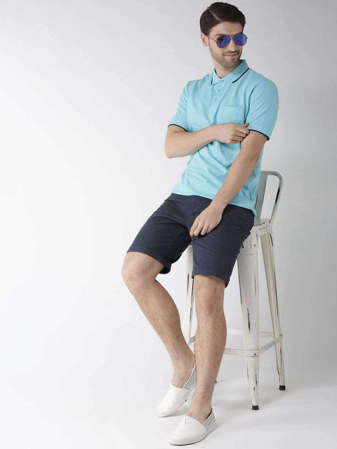 Sky Polo T-shirt full view