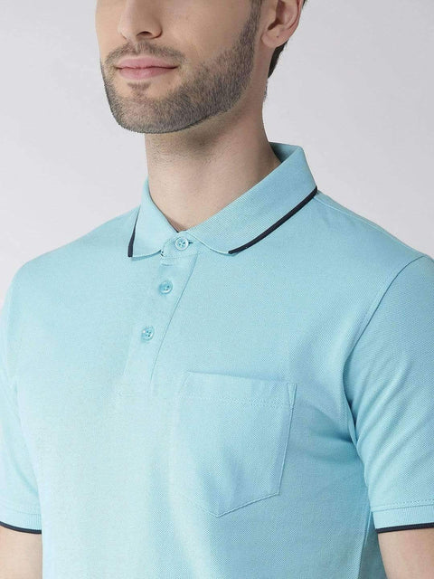 Sky Polo T-shirt for Men