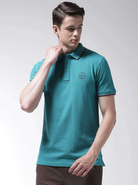 Teal Polo Tshirt