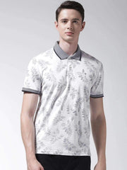 White & Black Polo Tshirt