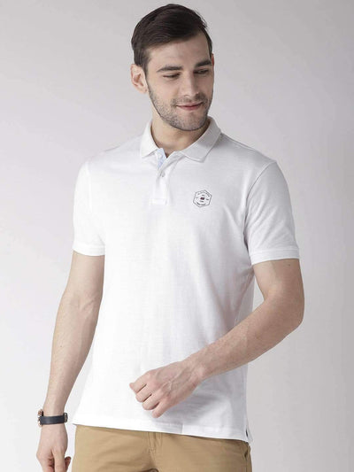 Richlook T-Shirt Richlook White Polo T-Shirt