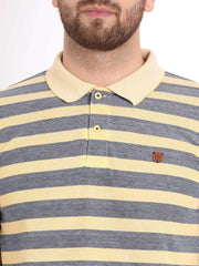 Richlook T-Shirt Richlook Yellow/Blue Polo T-Shirt