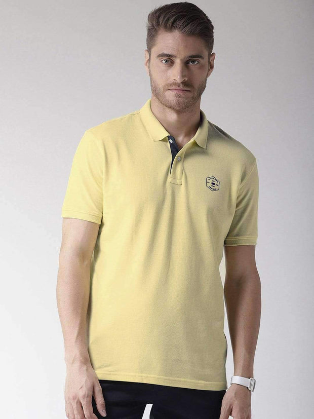 Yellow Polo T-Shirt