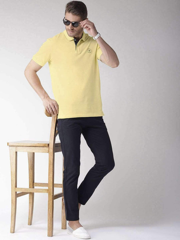 Yellow Polo T-Shirt for Men