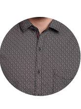 Load image into Gallery viewer, Richlook Black Casual Shirt
