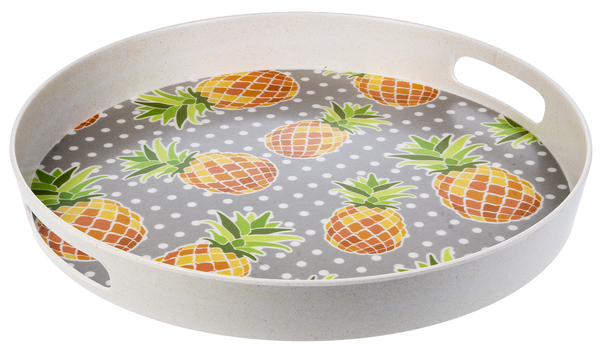 Round Pineapple Tray