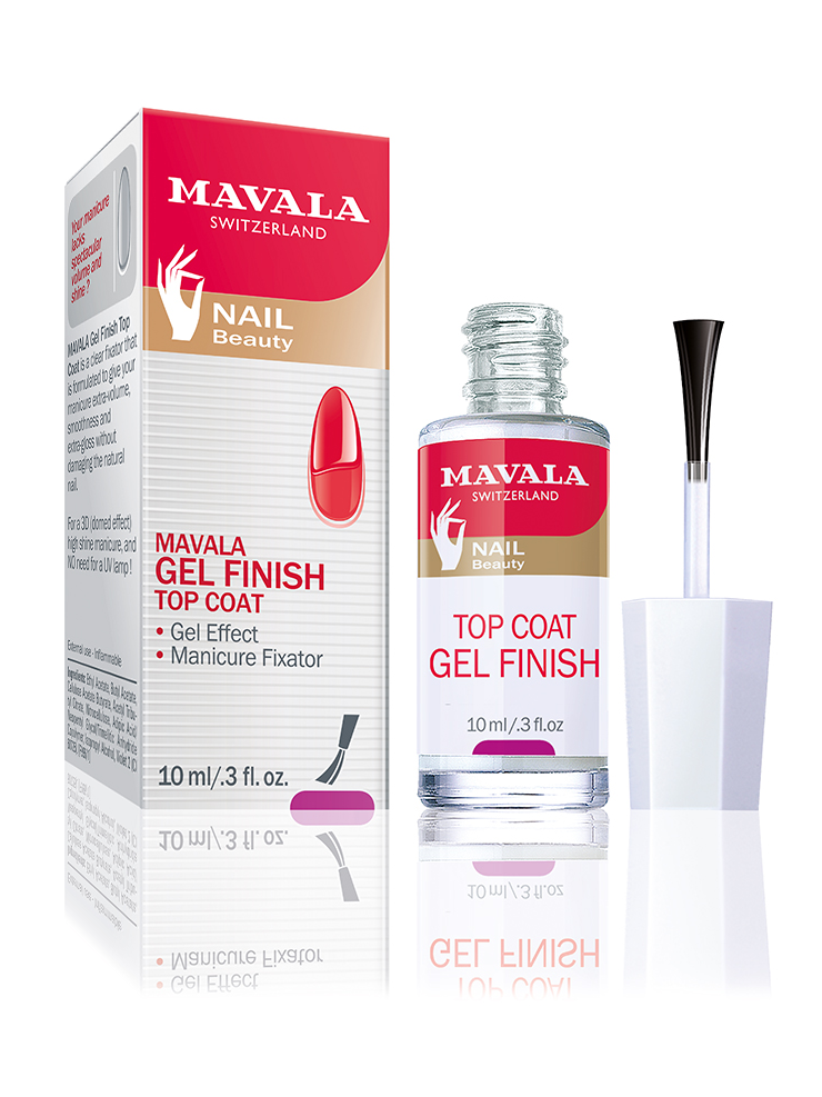 GEL FINISH TOP COAT 10ml