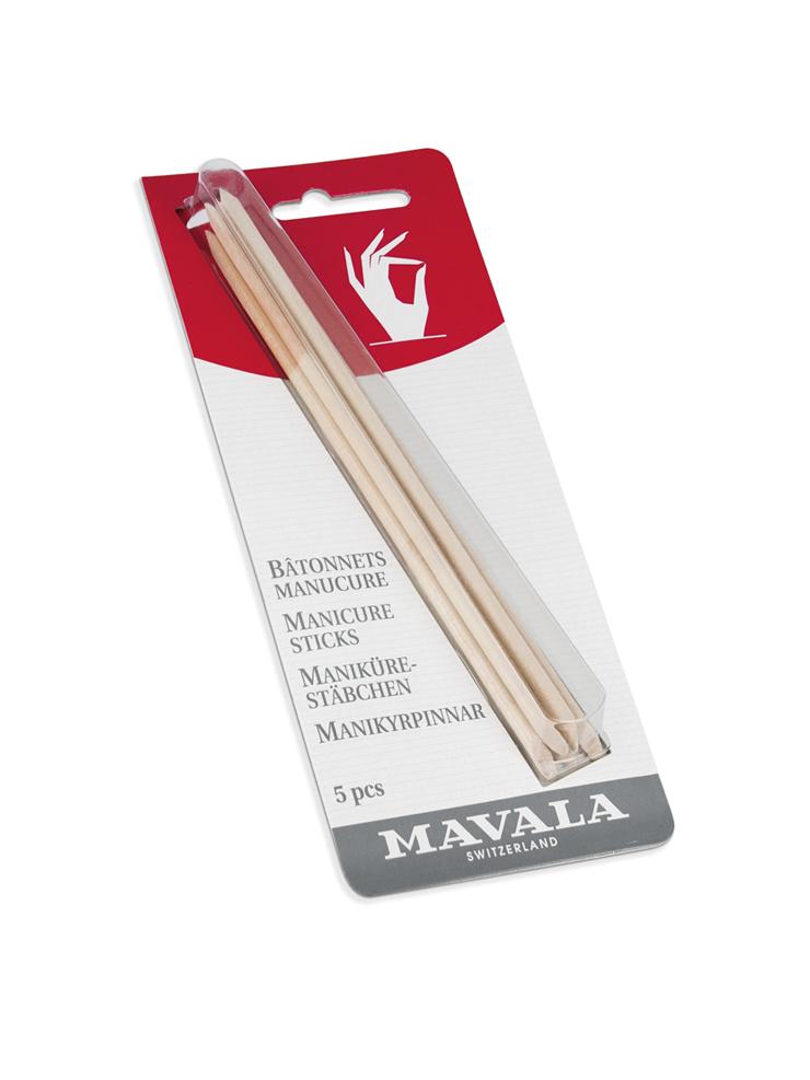 MANICURE STICKS carded 5pcs