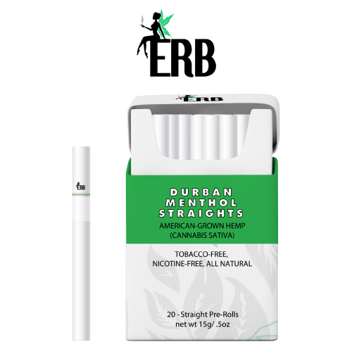 ERB Durban Menthol Straights Front Label Image