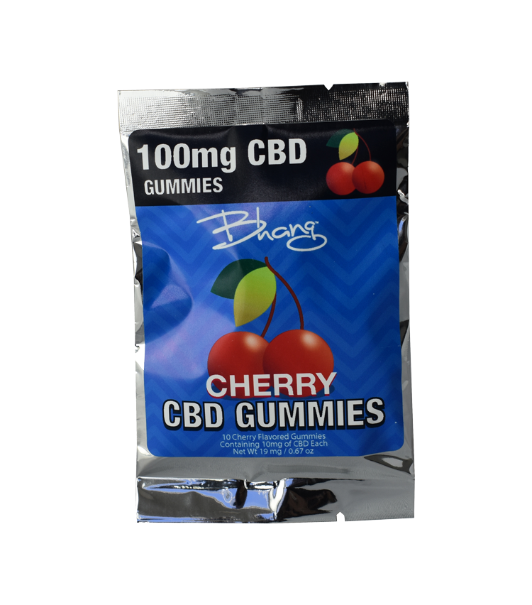 100 mg Cherry CBD Gummies Image