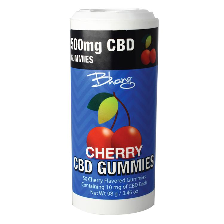 CBD Gummies Cherry Bomb Tube Image