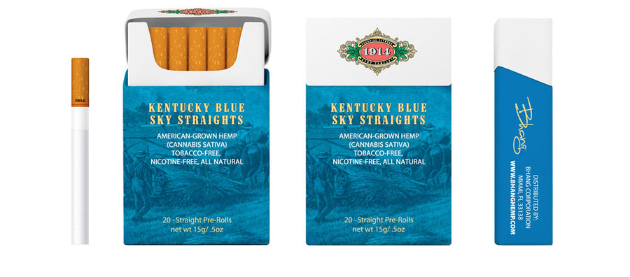Kentucky Blue Sky Straights - Carton Image