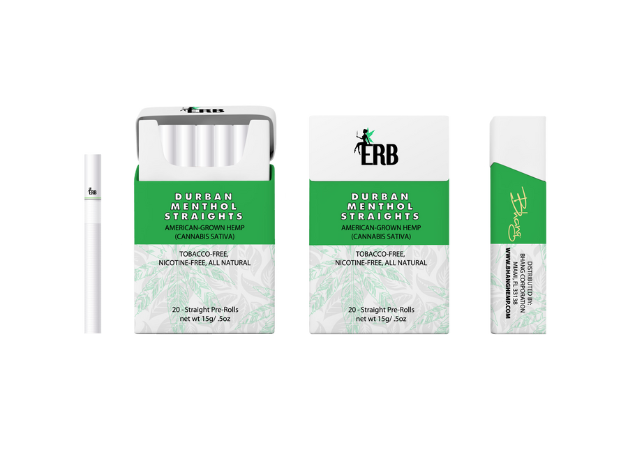 ERB Durban Menthol Straights All Sides Image
