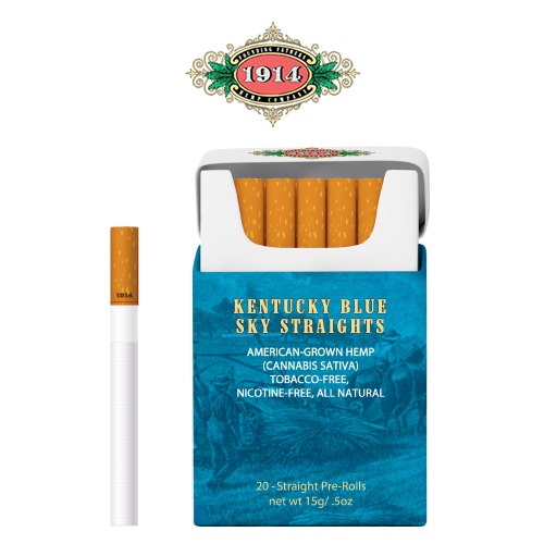 Kentucky Blue Sky Straights - Carton Front Label Image
