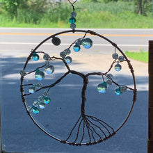 Load image into Gallery viewer, Tree of Life Suncatcher Autumn