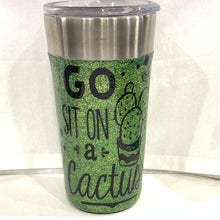 Load image into Gallery viewer, Glitter Travel Mug Tumbler