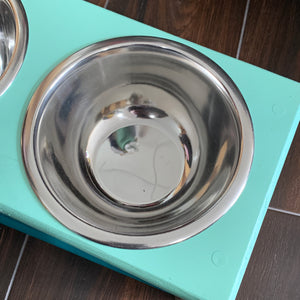 Raised Dog Feeding Dish 4""