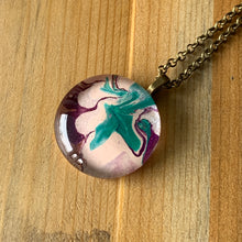 Load image into Gallery viewer, Marbled Pendant Necklace