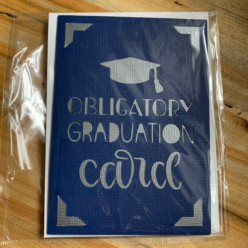 Decorated Greeting Card Graduation