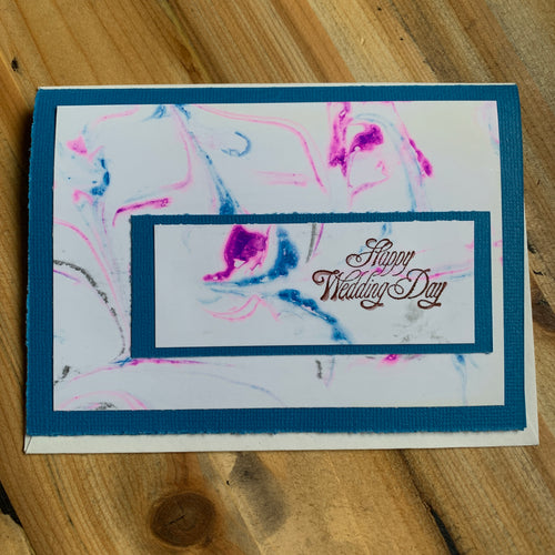 Decorated Greeting Card Wedding