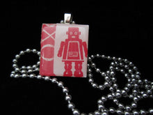 Load image into Gallery viewer, Scrabble Tile Pendant Necklaces