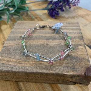 Reclaimed Sterling Silver Tube Bracelet