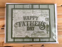 Load image into Gallery viewer, Stamped Father's Day Greeting Card