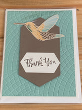 Load image into Gallery viewer, Stamped Thank You Greeting Card