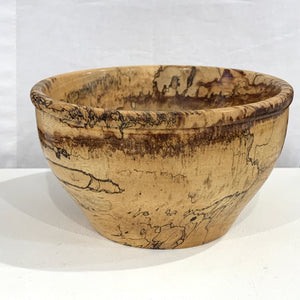 Wood Turned Bowl Spalted Tamarind
