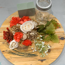 Load image into Gallery viewer, Wood Flower Jar Kit