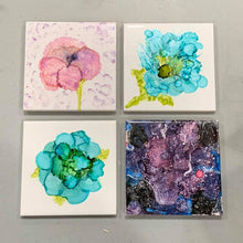 Load image into Gallery viewer, Alcohol Ink Art Workshop