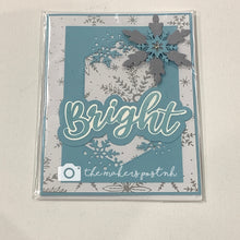 Load image into Gallery viewer, Stamped Winter Greetings Cards