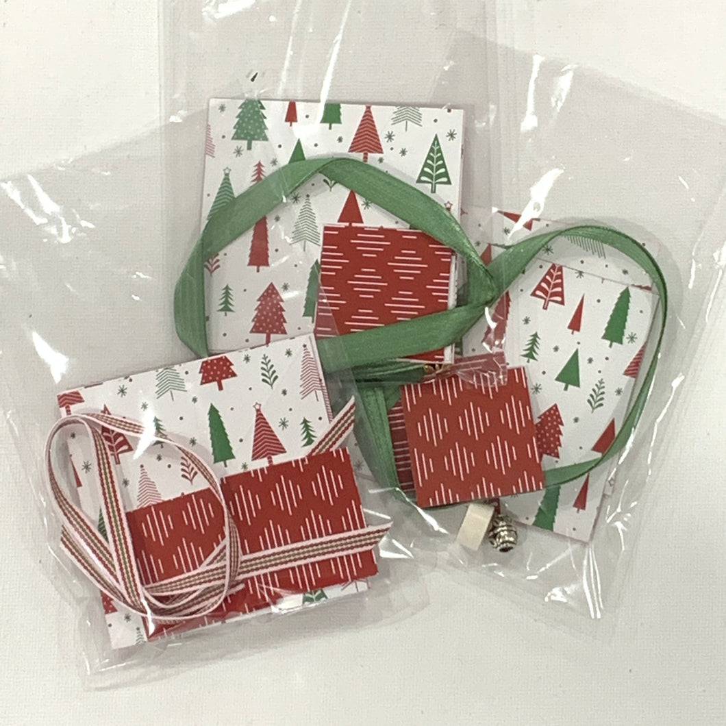 Papercrafted Pop-up Ornament Kit