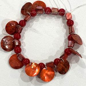 Stretch Bracelet Kit: Shell