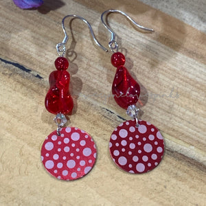 Lilly Pilly Aluminum Dangle Earrings